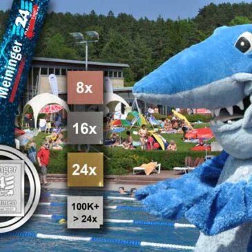4,5 Mio SchwimmMeter!